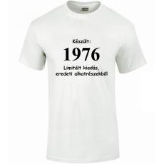 Tréfás póló 40 éves, Készült 1976...   (S)