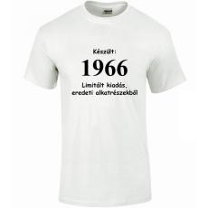 Tréfás póló 50 éves, Készült 1966...   (XXXL)