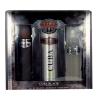 Cuba Black Férfi parfüm Set (Ajándék szett) EDT 100ml + 100ml Borotválkozás utáni after shave + 200ml Dezodor (Deo Spré)