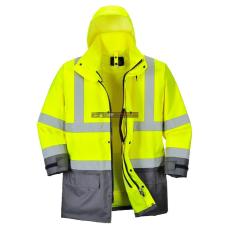 Portwest S768 5 az 1-ben vezetői dzseki (sárga/szürke)