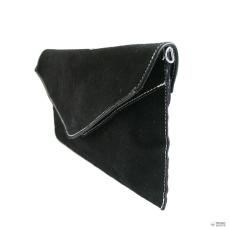 Miss Lulu London E1405 - Miss Lulu Suede Envelope Táska Clutch táska fekete