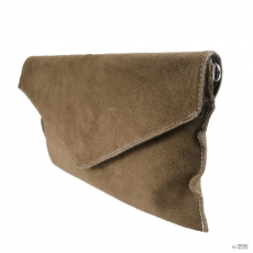 Miss Lulu London E1405 - Miss Lulu Suede Envelope Táska Clutch táska Khaki