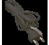 Emos S19272 FLEXO2X0,75 H03VV-H2 2m fekete szerelt kábel világítási kellék
