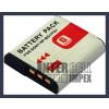 Sony DSC-H55 3.6V 1500mAh utángyártott Lithium-Ion kamera/fényképezőgép akku/akkumulátor