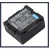 Panasonic VDR-M75 7.2V 700mAh utángyártott Lithium-Ion kamera/fényképezőgép akku/akkumulátor