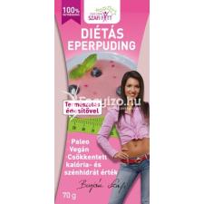 Szafi Fitt Diétás eper pudingpor 70 g reform élelmiszer