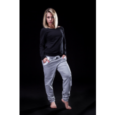 Boat Long Sun /black & Relax Pants /grey