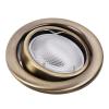 RÁBALUX Modern stílusú, beépíthető, síkban billenthető spot lámpa, Swing spot