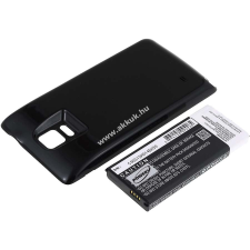 Powery Utángyártott akku Samsung SM-N910P 6400mAh fekete pda akkumulátor