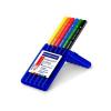 """STAEDTLER """"Ergo Soft Jumbo"""" háromszögletű vastag színes ceruza készlet, 6 különböző szín"""
