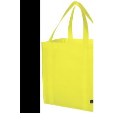 Bevásárlótáska, nemszőtt, lime (Bevásárlótáska, nem szőtt, 80 g/m2 nemszőtt anyagból.)