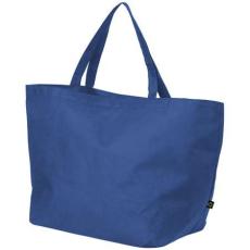 Maryville préselt bevásárlótáska, kék (Maryville préselt bevásárlótáska, 80 g/m2 préselt)