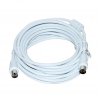 Vakoss Coaxial cable TV (antenna) M/F 5m TC-A745W white TC-A745W