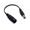92815 DC kábel 0,15m 2.5 dugó->2.1 aljzat