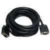 7593-FPP-5 VGA kábel 5m árnyékolt fekete