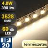 LED szalag beltéri (3528-060-FN) - fehér (természetes)