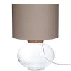 Lucy asztali lámpa világos barna 47cm