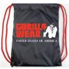 Gorilla Wear Tornazsák Piros/Fekete