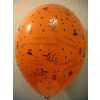 Halloween 30 cm-es gumi lufi