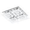 EGLO LED-es mennyezeti lámpa GU10 4x3W króm/fehér Almana EGLO