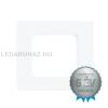EGLO Süllyesztett Eglo 6W LED panel, négyzet, fehér keret, 4000K természetes fehér - Fueva 1 - 94054