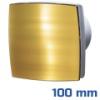 DEKOR ventilátor arany, LDA (100 mm) alap típus