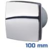 DEKOR ventilátor króm, LDA (100 mm) alap típus