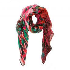 Desigual Foulard Rectangle Fantasia Sál D (61w54f2-o_7032-Teja Rustica)