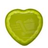 Perfect home Mini szívecske tepsi zöld