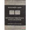 Kriterion Könyvkiadó Művészettörténeti tanulmányok