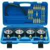 BGS 25 részes karburátor teszter, 0-14 PSI