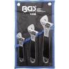 BGS 3 részes állítható villáskulcs készlet