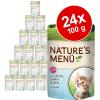 Schmusy Nature frissentartó tasakban gazdaságosan 24 x 100 g - Kitten: borjú, szárnyas, tészta & útifű maghéj