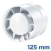 Csőventilátor VKO, gördülőcsapágyas (150 mm)