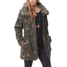 AJC Terepmintás Női Kabát