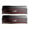 Team Group Dark Pro Series, DDR4-3000, CL15 - 8 GB Kit - piros