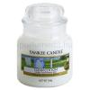 Yankee Candle Clean Cotton illatos gyertya  104 g kicsi + minden rendeléshez ajándék.