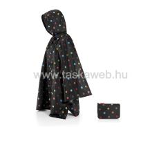 Reisenthel MINI-MAXI fekete,színes pettyes esőkabát AN7009