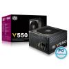 CoolerMaster 550W V550 80+ Gold Modular 550W,1xFAN,12cm,Aktív PFC