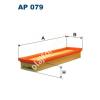 Filtron AP079 Filtron levegőszűrő