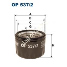 Filtron OP537/2 Filron olajszűrő olajszűrő