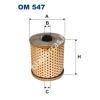 Filtron OM547 Filron olajszűrő