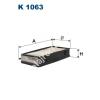 Filtron K1063 Filtron pollenszűrő