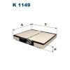 Filtron K1149 Filtron pollenszűrő