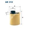 Filtron AK 31 Filtron levegőszűrő