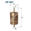 Filtron PP907 Filtron üzemanyagszűrő