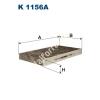 Filtron K1156A Filtron pollenszűrő