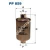 Filtron PP859 Filtron üzemanyagszűrő