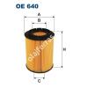 Filtron OE640 Filron olajszűrő