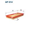 Filtron AP014 Filtron levegőszűrő
